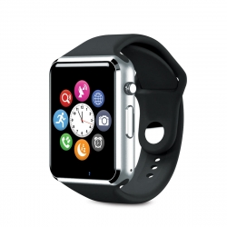 muvit iO reloj con ranura para SIM de actividad y sueño negra