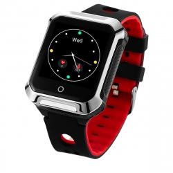 Muvit iO Reloj GPS de Actividad y SOS HEALTH SENIOR negro/rojo