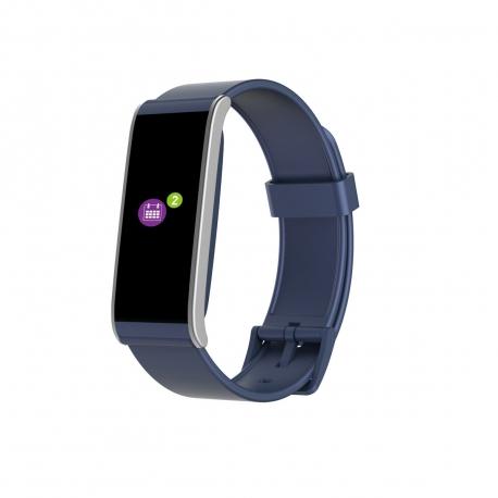 MyKronoz pulsera Zefit 4 HR de actividad y sueño azul