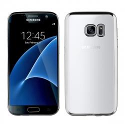 muvit Life funda Samsung Galaxy S7 Bling transparente marco negro