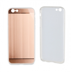 muvit Life funda Apple iPhone 6S/6 Alloy aluminio oro rosa