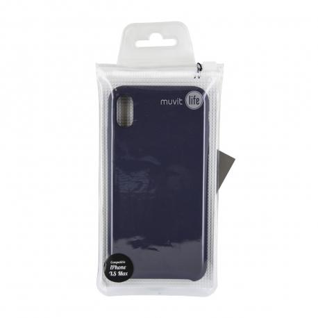 muvit Life carcasa Apple iPhone XS Max Liquid gris