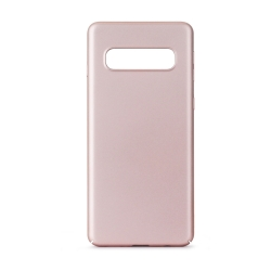 muvit Life carcasa Samsung Galaxy S10 rose gold metalica