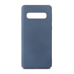 muvit Life carcasa Samsung Galaxy S10 Plus azul metalica