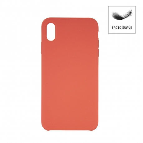 muvit Life carcasa Apple iPhone XS Max Liquid Coral