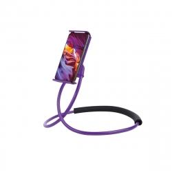 "muvit Life soporte Lazy holder para smartphone hasta 6,2"" lila"