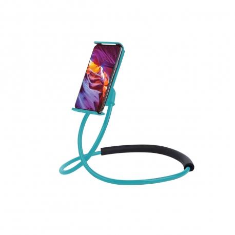 "muvit Life soporte Lazy holder para smartphone hasta 6,2"" azul"