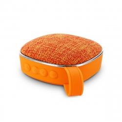 muvit life altavoz Wireless tela naranja