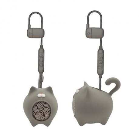 muvit life altavoz Wireless gato gris