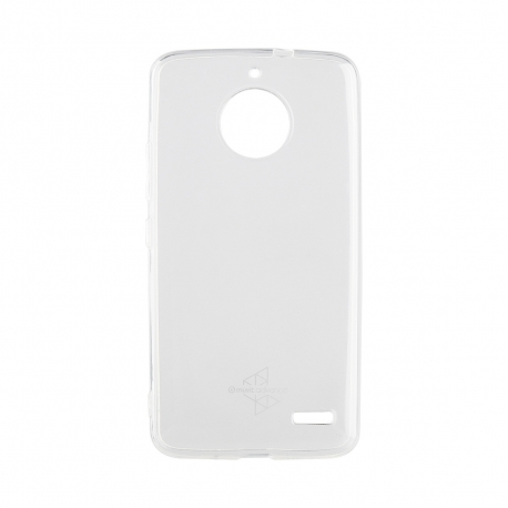 Made for Motorola funda Cristal Soft Motorola Moto E4 transparente