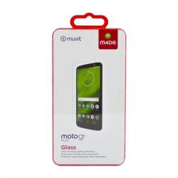 Made for Motorola protector pantalla Motorola Moto G6 Plus vidrio templado plano
