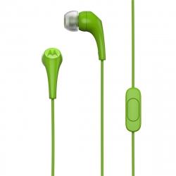 Motorola auriculares estéreo Earbuds 2 3,5mm verde