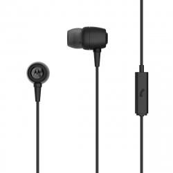 Motorola auriculares estéreo Earbuds metal 3,5mm negro