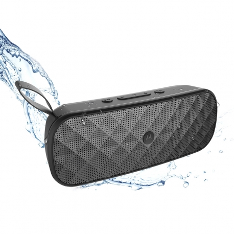 Motorola altavoz Bluetooth Play 275 waterproof negro