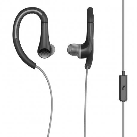 Motorola auriculares estéreo Earbuds sport 3,5mm negro/gris