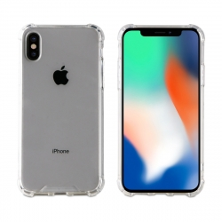 muvit Pro funda Cristal Bump Apple iPhone Xs/X shockproof 2m transparente