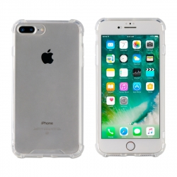 muvit Pro funda Cristal Bump Apple iPhone 8 Plus/7 Plus shockproof 2m transparente