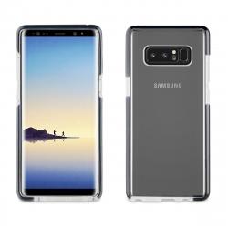 muvit Pro funda Cristal Soft Bump Samsung Galaxy Note 8 shockproof transparente + borde negro