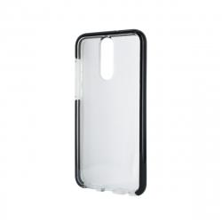 muvit Pro funda Cristal Soft Bump Huawei Mate 10 Lite shockproof transparente + borde negro