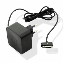 muvit transformador Apple 30 Pin 1A cable 1,2m negro
