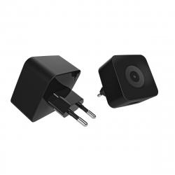 muvit transformador 2 USB 3.1A negro