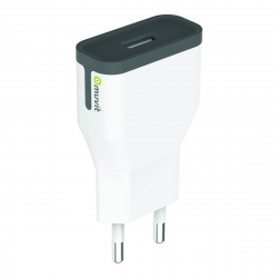 muvit transformador USB 2.4A blanco