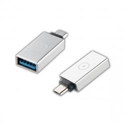 muvit adaptador USB OTG 3,0 a Micro USB Plata