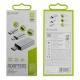 muvit pack adaptador USB OTG 3,0 a Tipo C+Micro USB a Tipo C+ Tipo C a micro USB Plata