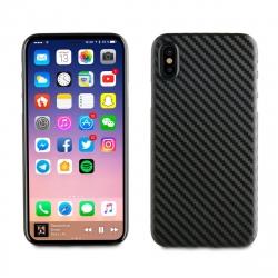 muvit carcasa Apple iPhone Xs/X fibra carbono negra
