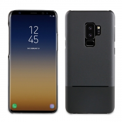 muvit carcasa Samsung Galaxy S9 Plus Doble Skin negra