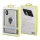 muvit carcasa ring magnetica Apple iPhone Xs/X plateada