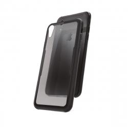 muvit carcasa Skin Apple iPhone XR vidrio templado marco negro