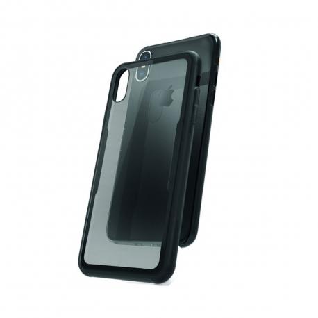 muvit carcasa Skin Apple iPhone XS Max vidrio templado marco negro