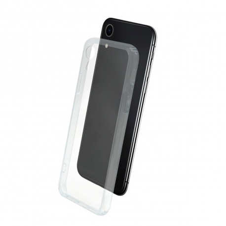 muvit carcasa Skin Apple iPhone XR vidrio templado marco transparente