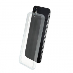 muvit carcasa Skin Apple iPhone XS/X vidrio templado marco transparente