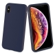 muvit carcasa Apple iPhone Xs/X Liquid Edition midnight blue