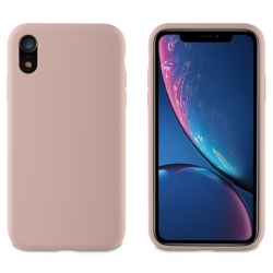 muvit carcasa Apple iPhone XR Liquid Edition pink sand