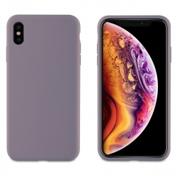 muvit carcasa Apple iPhone XS Max Liquid Edition lavander grey