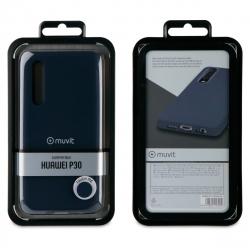 muvit carcasa Huawei P30 Liquid Edition midnight blue
