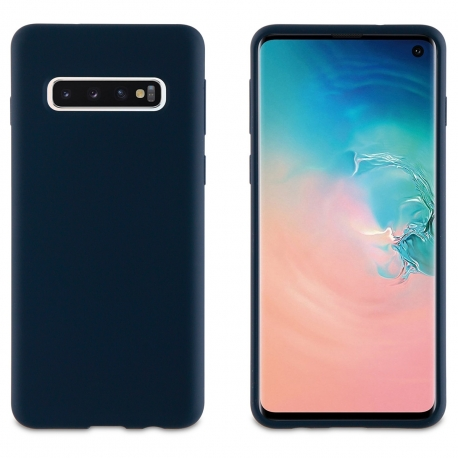 muvit carcasa Samsung Galaxy S10 Liquid Edition Midnight blue