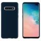 muvit carcasa Samsung Galaxy S10 Plus Liquid Edition Midnight blue