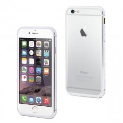 muvit funda Bumper Apple iPhone 8/7 aluminio + nanofilm trasero plata