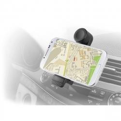 """muvit soporte coche universal salida de aire rotativo 360. Hasta 5,2"""" negro"""