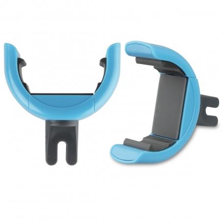 """muvit soporte coche universal salida de aire rotativo 360. Hasta 5,7"""" azul"""