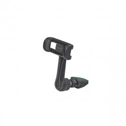 """muvit soporte coche universal salida del aire rotativo 360. Hasta 5.7"""" negro"""
