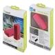 muvit power bank 2600 mAh USB 1A cable USB-MicroUSB rosa