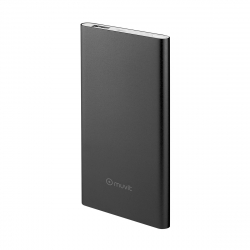 muvit power bank 5000 mAh USB 2A cable USB-MicroUSB negro