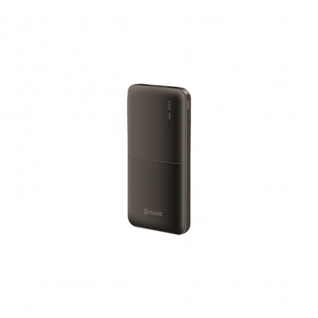muvit power bank 10000 mAh USB 2 puertos 2A(max) negro