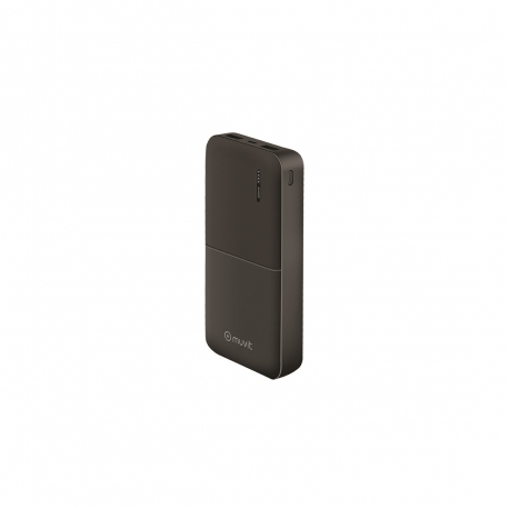 muvit power bank 20000 mAh USB 2 puertos 2A (max) negro