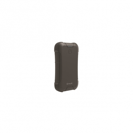 muvit power bank waterproof IP66 27000 mAh 2 USB (2,4A/2,4A)+Tipo C 3A IP66 negra